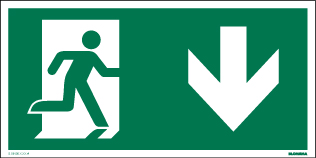Vluchtwegmarkering