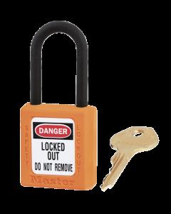 Master Lock hangslot Model 406 Oranje