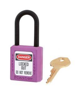 Master Lock hangslot Model 406 Paars