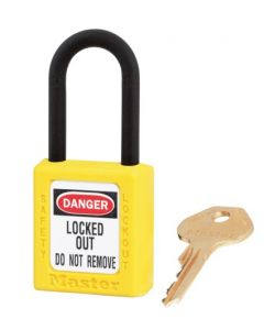 Master Lock hangslot Model 406 Geel
