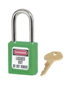Master Lock hangslot Model 410 Groen