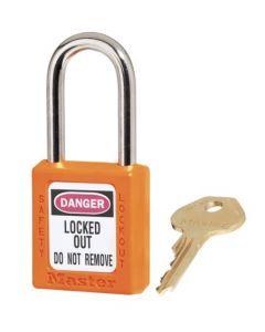 Master Lock hangslot Model 410 Oranje