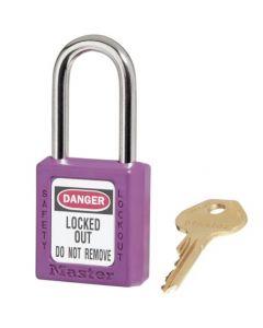 Master Lock hangslot Model 410 Paars