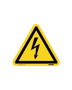 GEVAAR VOOR ELECTRISCHE SPANNING