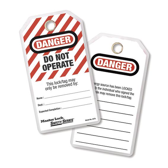 Tagout - Labels